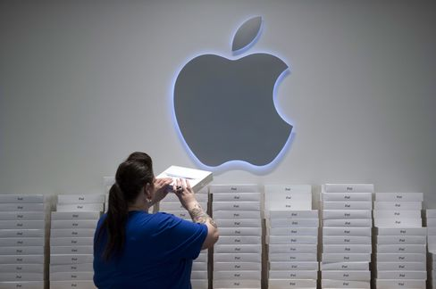 Apple Sales Shortfall May Be Time to Buy Stock