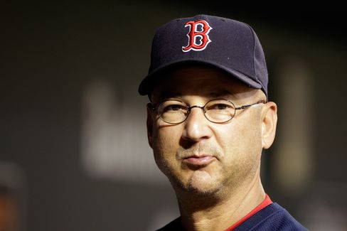 Former Boston Red Sox manager Terry Francona