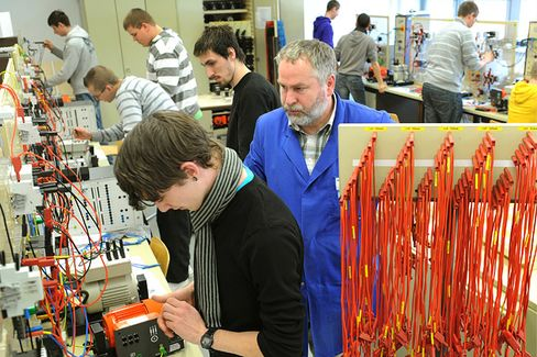 Would German-Style Apprenticeships Work in the U.S.?