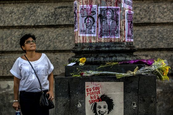 Where Gangs Pick the Politicians, a Murder in Rio Ignites a People's Revolt