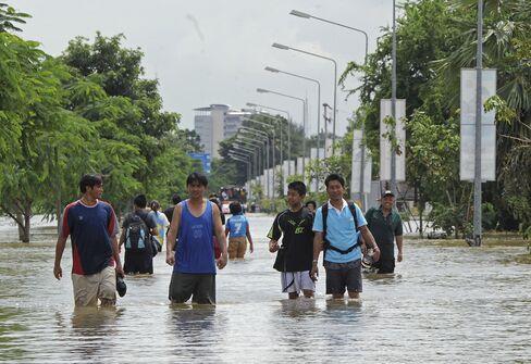 Thai Flood Death Toll Rises