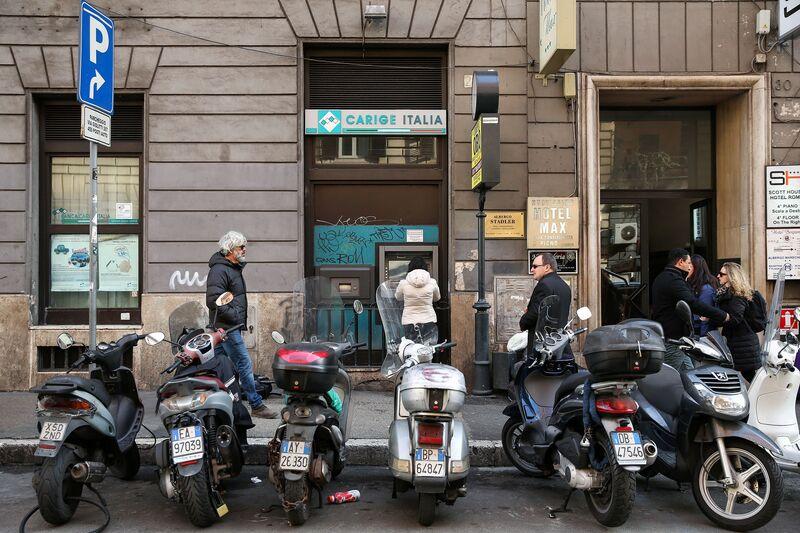 Η ΕΚΤ στέκει ατάραχη απέναντι σε μια ιταλική τράπεζα που ζορίζεται