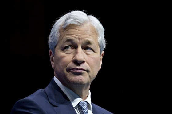 JPMorgan's Shares Slide as FICC Miss Echoes Citi's Results