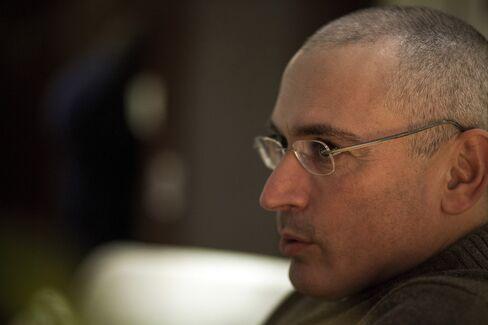 One-Time Oil Tycoon Mikhail Khodorkovsky
