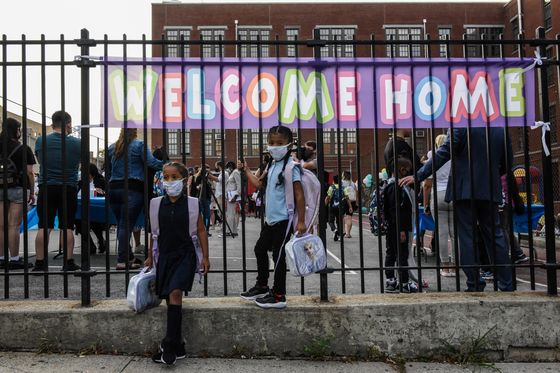 New York City Schools Reopen to a Mixture of Fear and Relief
