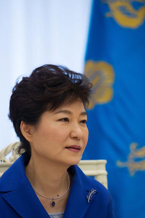 Park Geun Hye, South Korea's president.