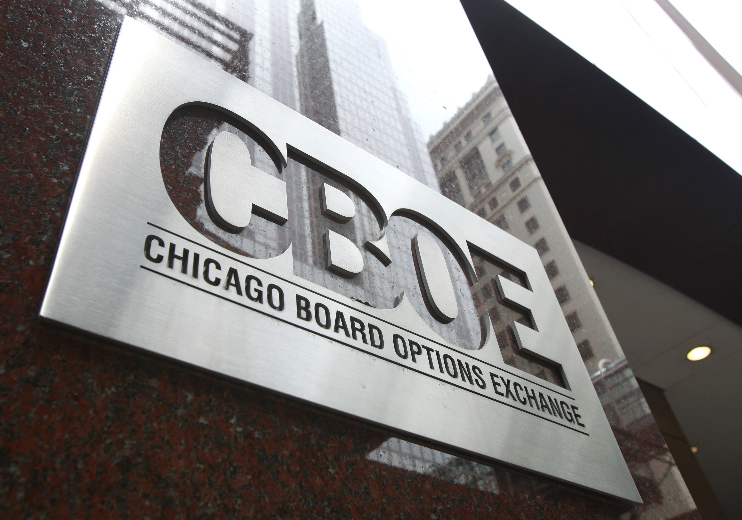 Chicago options trading board