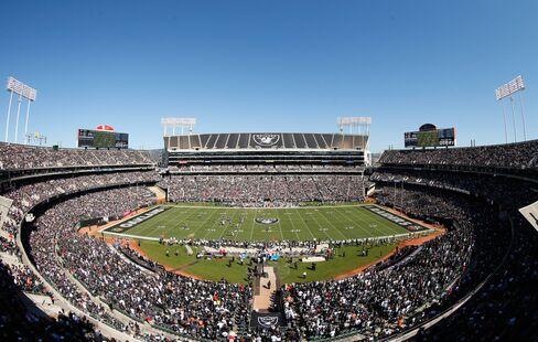 Oakland Raiders' O.co Stadium