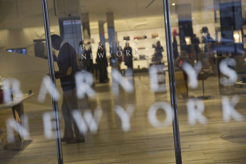 Barneys New York Landlord Gazit Globe Ltd. Founder Chaim Katzman At Reopened Chelsea Location