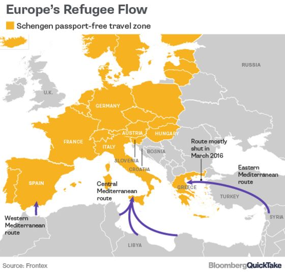 Why European Tension Is Rising Over Migrants (Again)