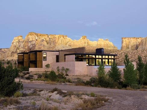 A villa at the Mesa at Amangiri, in Canyon Point, Utah.