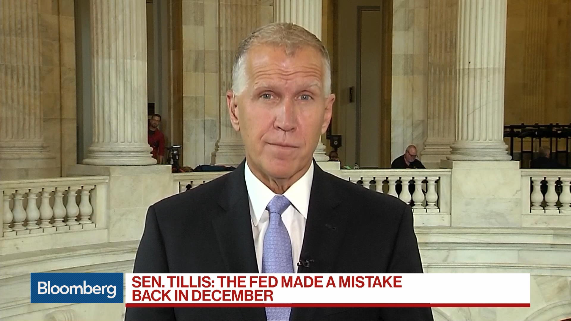 Trump Could Probably Consider Another Fed Chair, Says Sen. Tillis