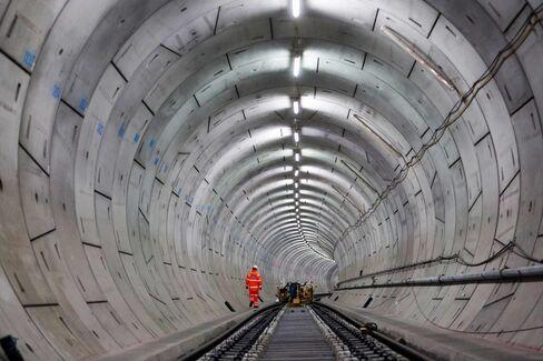 Crossrail Track And Railhead Installation