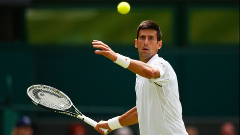 Novak Djokovic at Wimbledon