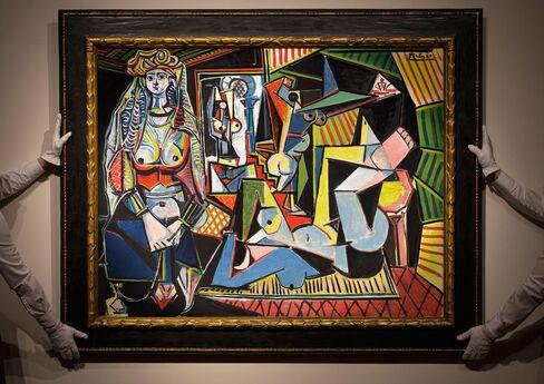 Pablo Picasso,Les Femmes d'Alger,1955