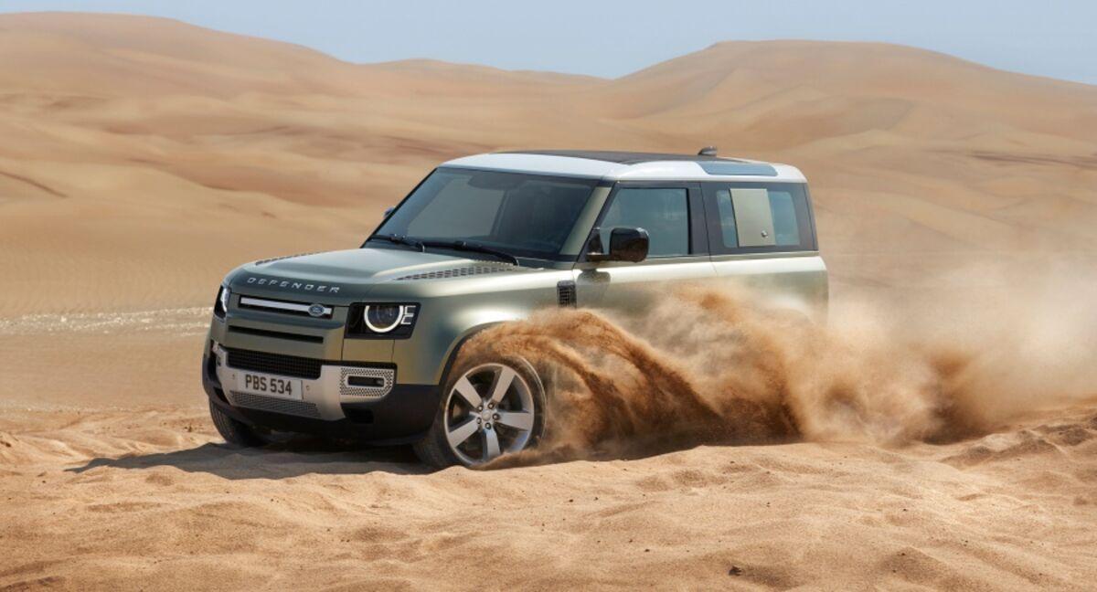 Land Rover Unveils Reborn Defender