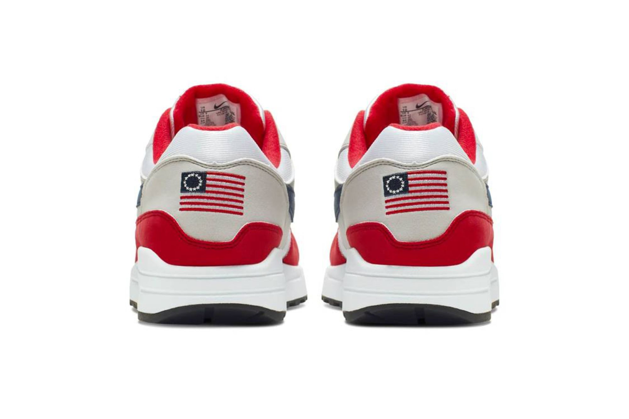 relates to Nike Pulls 'Betsy Ross Flag' Sneakers After Kaepernick Complaint