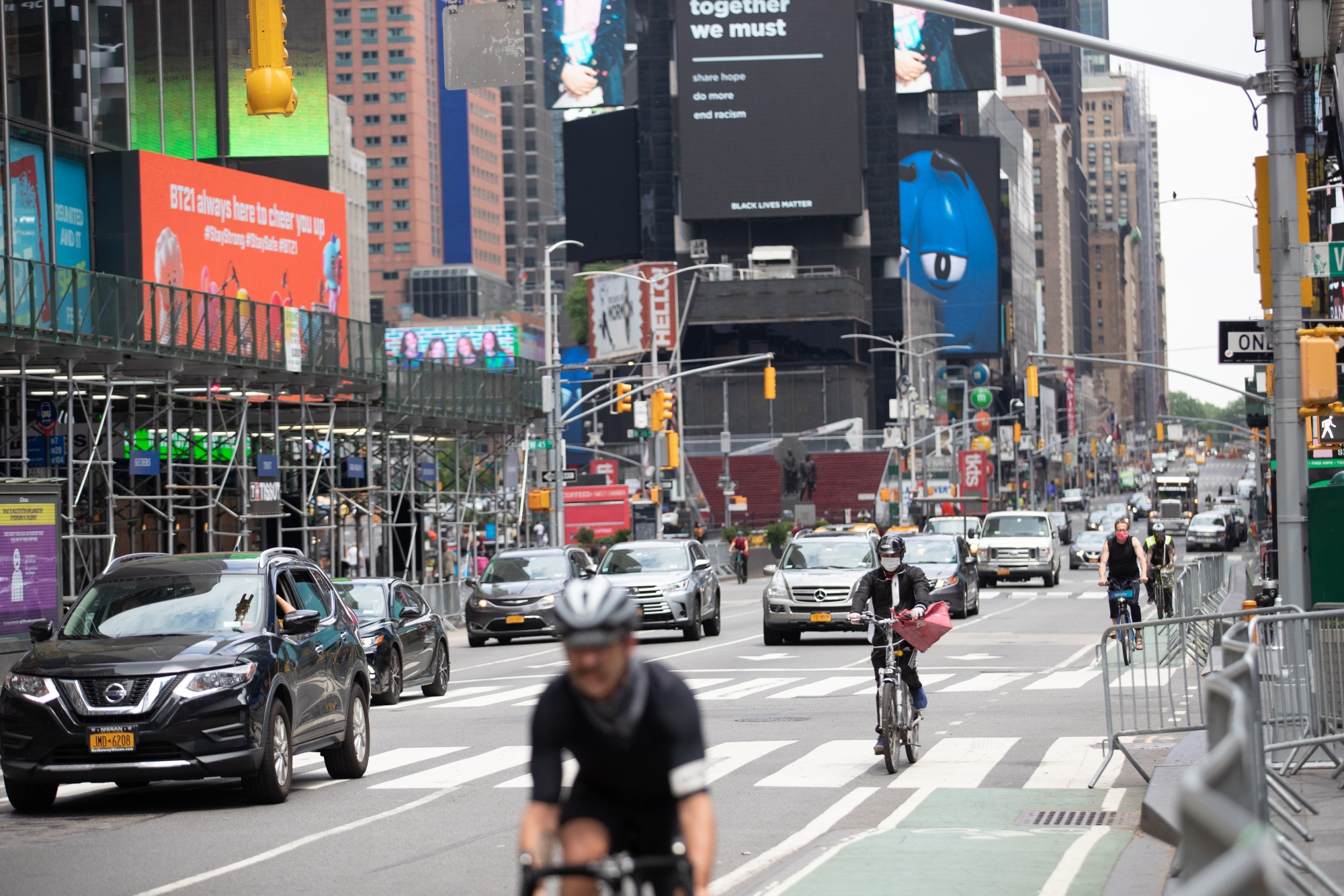 New York Streets Get a Little More Congested As City Enters Phase 1