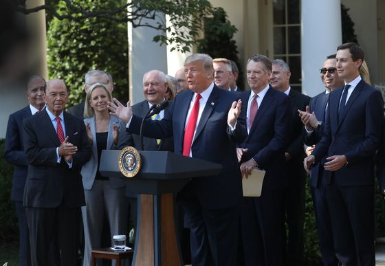 Trump's New Nafta Deal Comes Just in Time for the Midterms