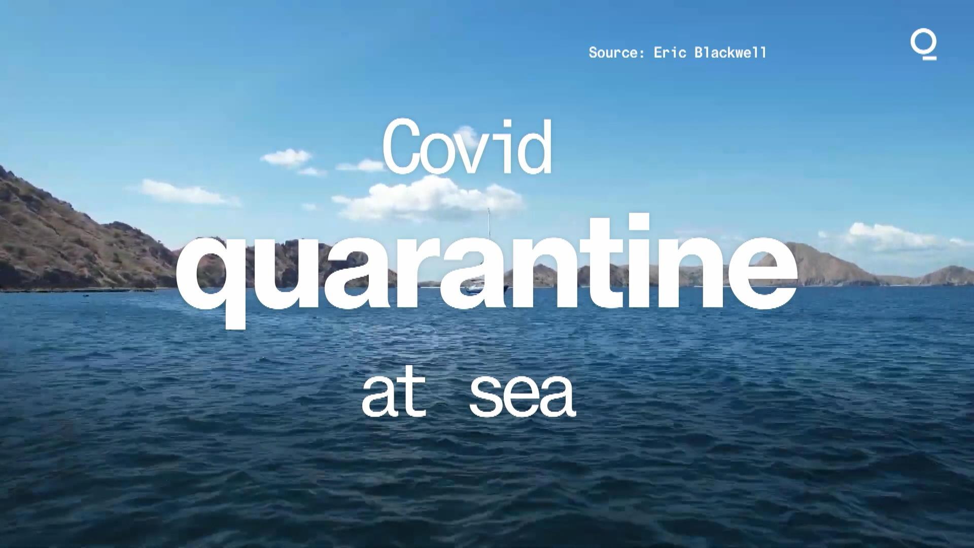 Two Kiwis Are Quarantining at Sea