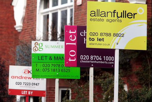Buy-to-Rent Rises in Britain, Bricks and Mortar Beat Shares