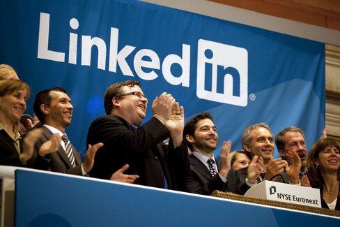 Reid Hoffman and Jeff Weiner of LinkedIn