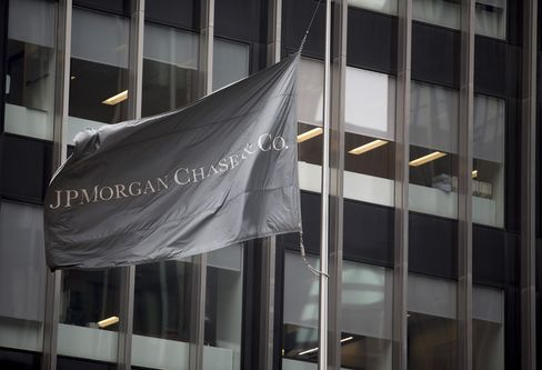 JPMorgan Chase & Co. Flag Flies