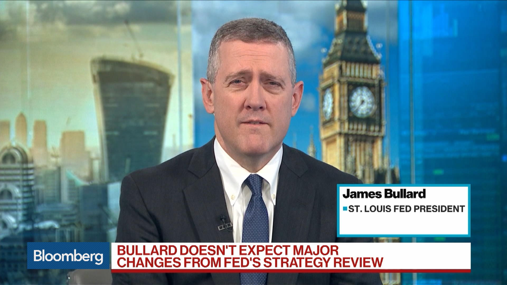 James Bullard, Federal Reserve Bank of St. Louis President, on Outlook for Interest Rates