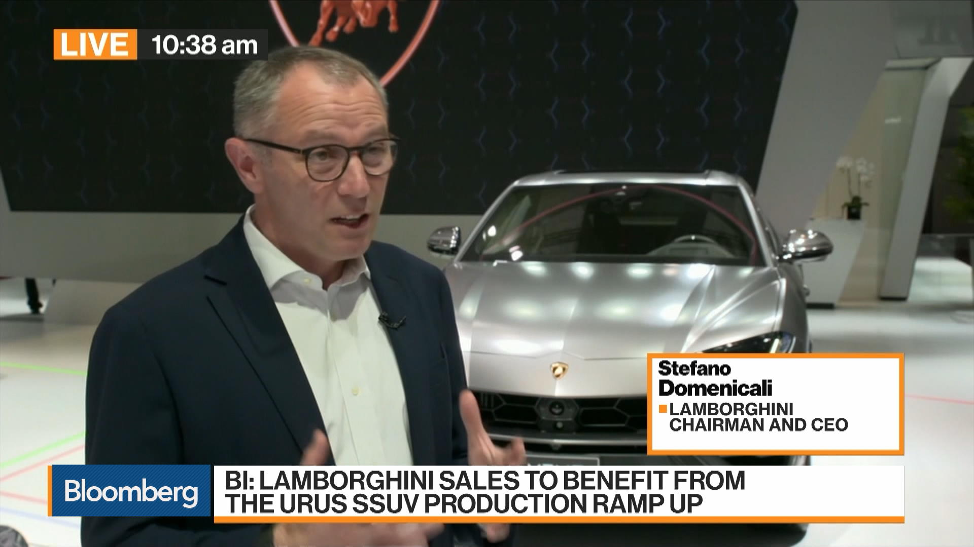 Lamborghini Ceo Says China Market Getting More And More Important