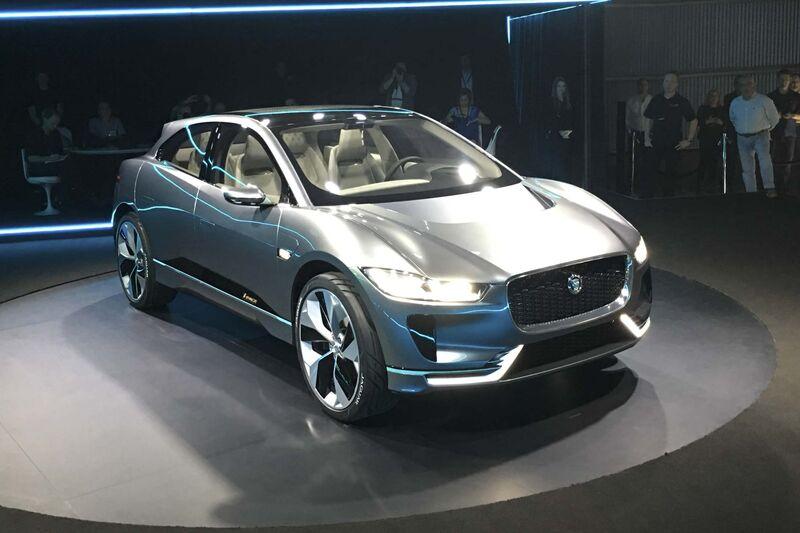 Jaguar I Pace Suv All Electric Concept Specs Photos Price