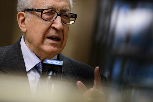 United Nations Special Envoy Lakhdar Brahimi