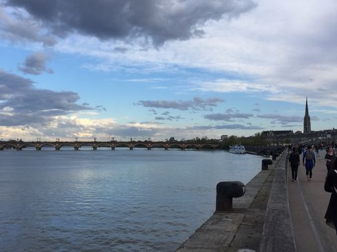 The waterfront at Bordeaux.