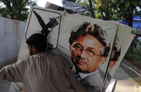 Musharraf Political Return Halted as Pakistan Rejects Nomination