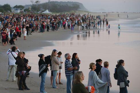 Anzac Day Commemorated In Australia