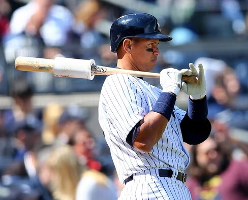 Yankees Player Alex Rodriguez