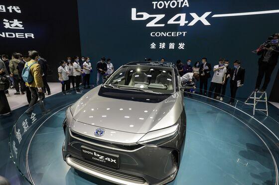 Toyota Spending $13.7 Billion to Secure EV Battery Supplies