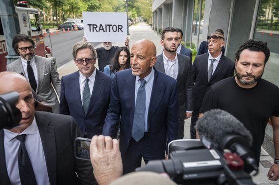 UAE Royals Said to Direct Tom Barrack's Influence Campaign