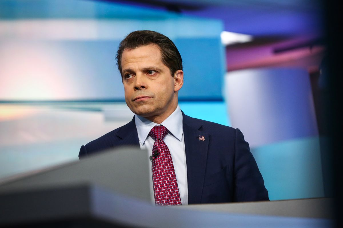 Anthony Scaramucci Says Working to Remove Former Boss Trump