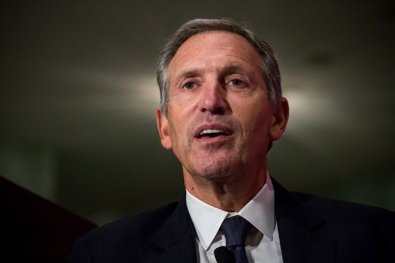 Howard Schultz Sees Shortcomings in Both U.S. Political Parties