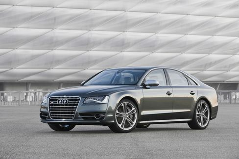 Double-Dueling Audi S8 Takes on Mercedes-Benz, BMW