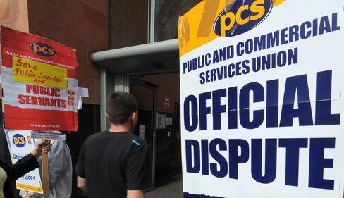 U.K. Public Sector Strike