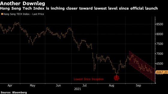 China Tech Stocks Fall as State Media Fans Clampdown Concerns