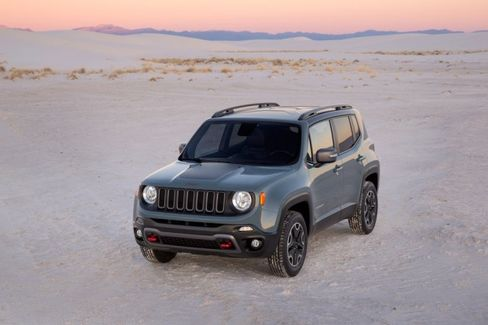 Fiat's 'Baby' Jeep Renegade Hails From Italy
