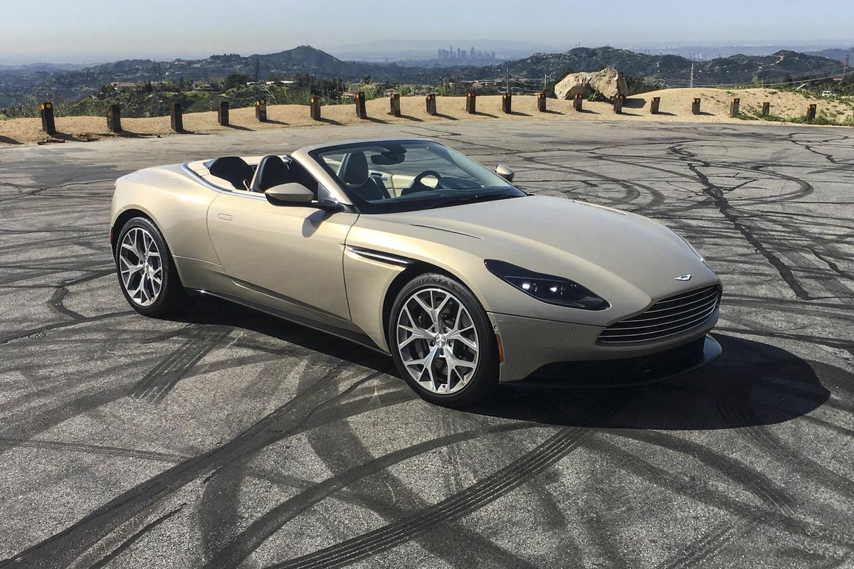 It S Easy To Make Mistakes With A 2019 Aston Martin Db11 Volante Bloomberg