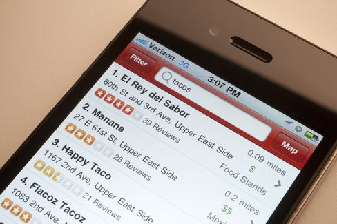 Yelp Files to Raise $100 Million in Initial Public Offering