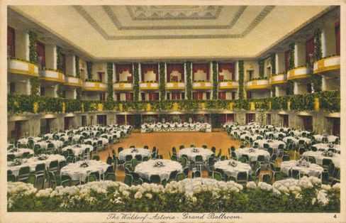 The Grand Ballroom in the 1930s.