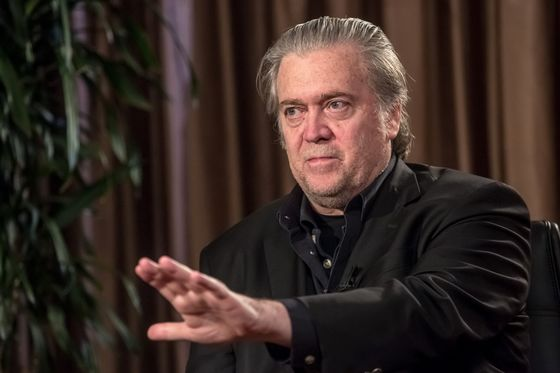 Bannon Says Trump Doesn't Have to `Justify' Border Separations