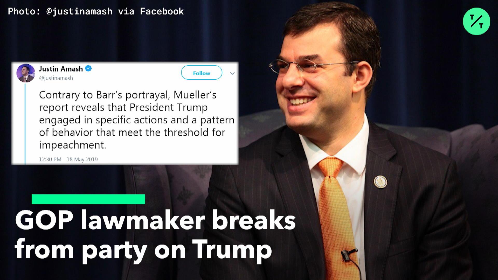 GOP Lawmaker Breaks From Party On Trump