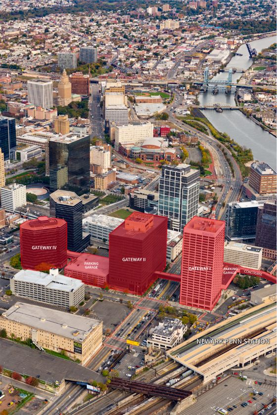 Investors Buy Newark's Gateway Center Seeing a Path to the City's Rebirth