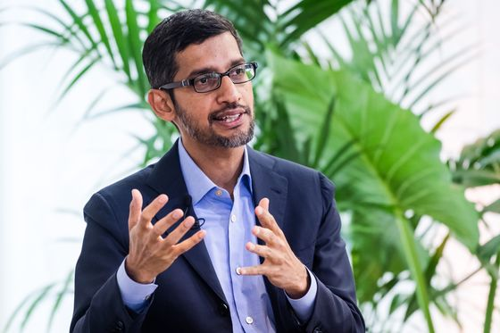 Alphabet Investors Should Reject CEO's Pay, Proxy Firms Say